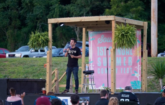 Mark Normand at SoulJoel's Outdoor Amphitheater